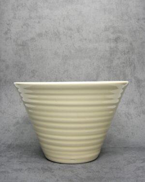 1060 - bloempot Ecri Katwijk 23 crème