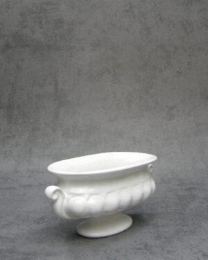 1078 - bloempotje Delfts wit Porcelyte