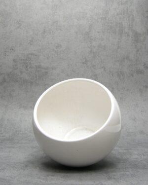 1021 – bloempot bloempot JLK Jacob Leopold Knoedgen 532/12 wit