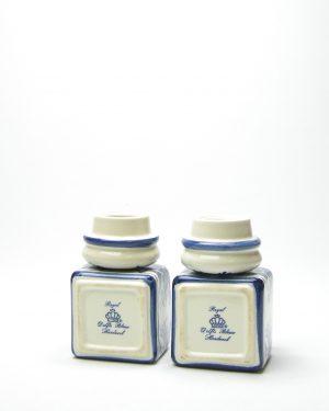14 – kruidenpotje Royal Delfs blauw handwerk jaren 60 (4)