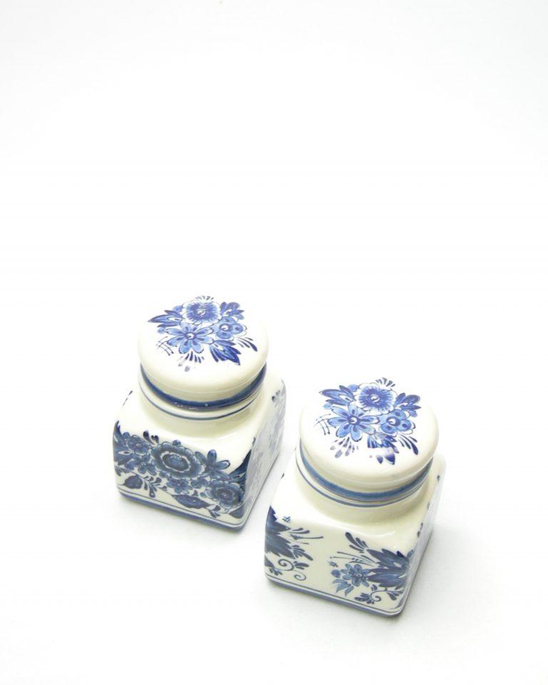 14 – kruidenpotje Royal Delfs blauw handwerk jaren 60 (6)