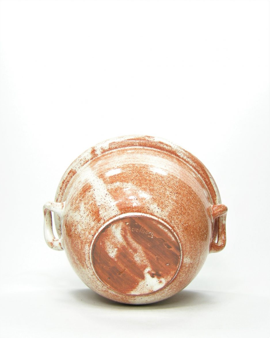 167-bloempot-Zaalberg-rood-bruin-wit