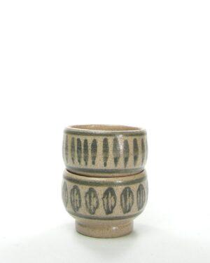168 - vintage schaaltje Bronkhorst HC bruin