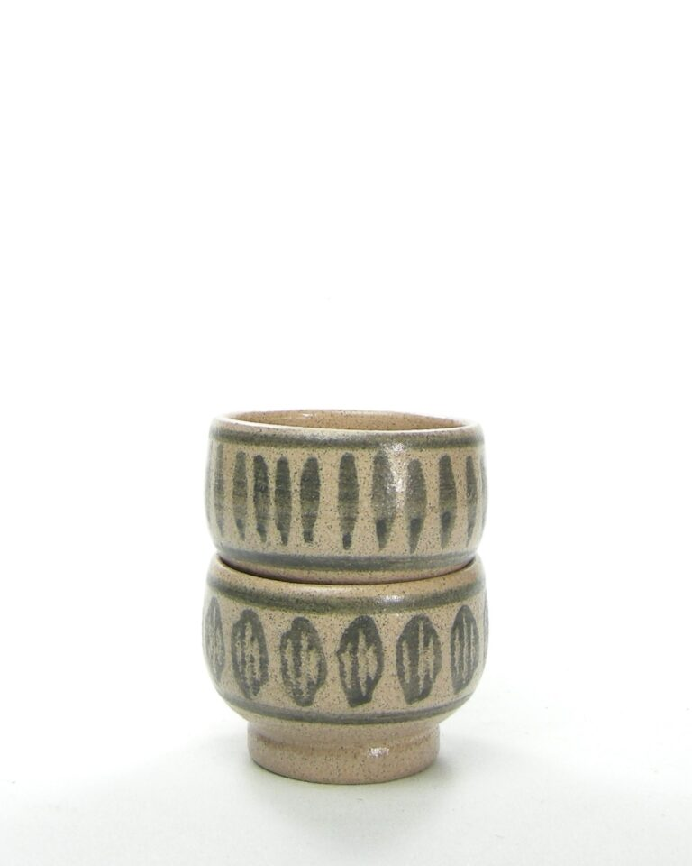 168 – vintage schaaltje Bronkhorst HC bruin
