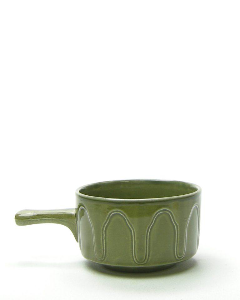 240 – soepkom made in England groen (1)