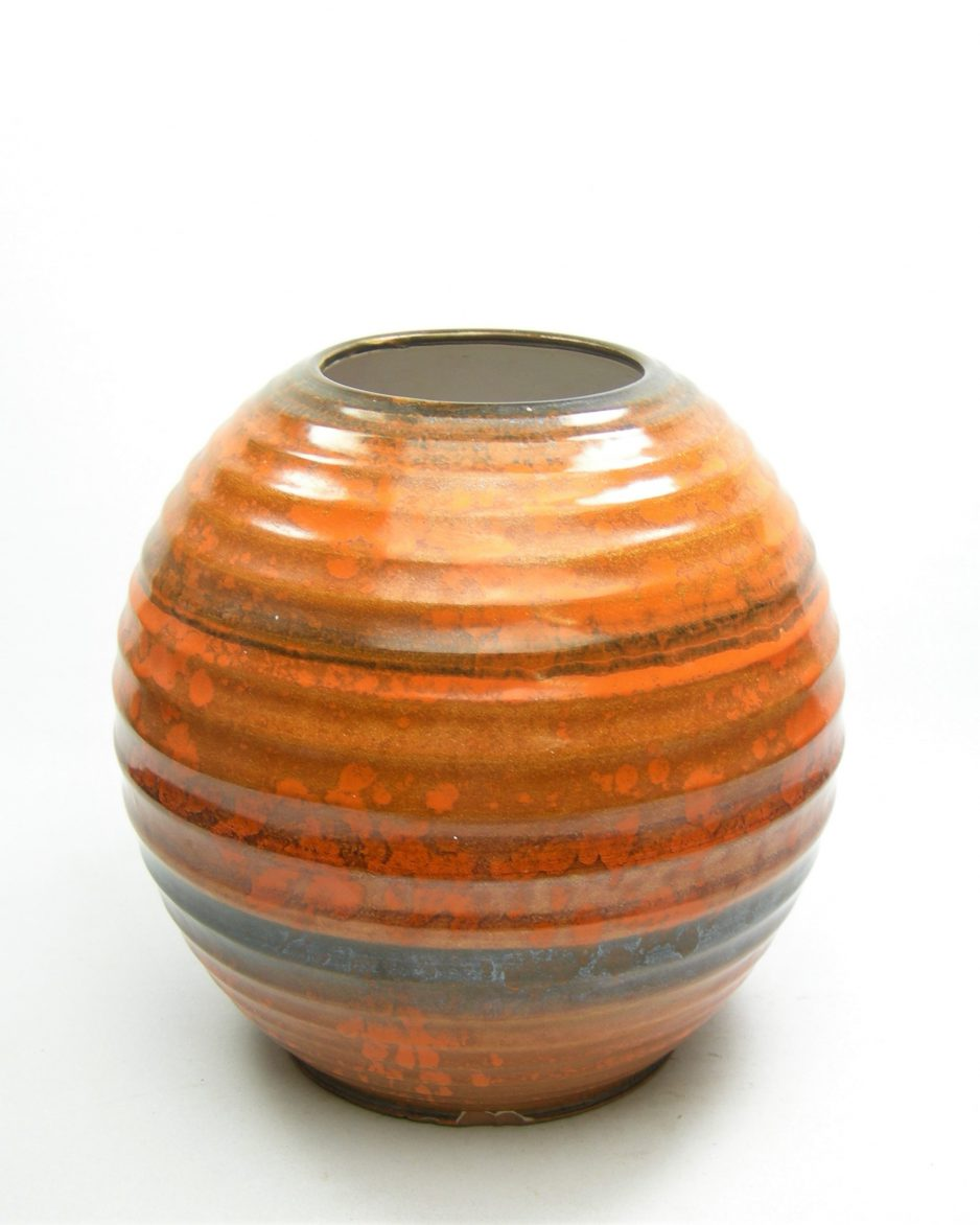 27 - vaas 3220 oranje-bruin (