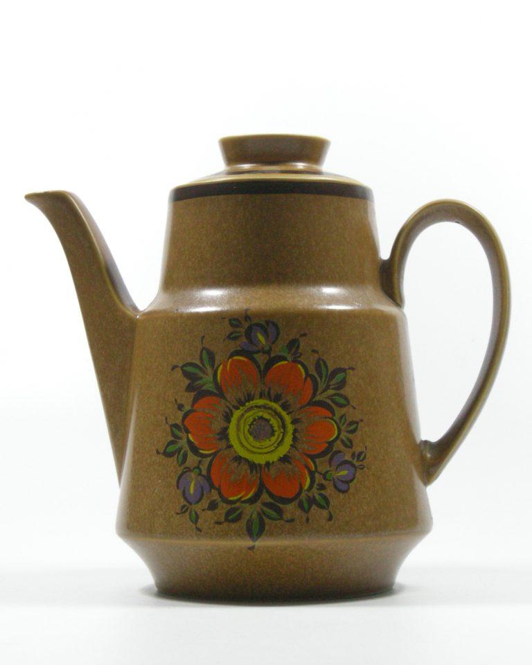287-koffie-servies-met-5-kop-en-schotels-bruin