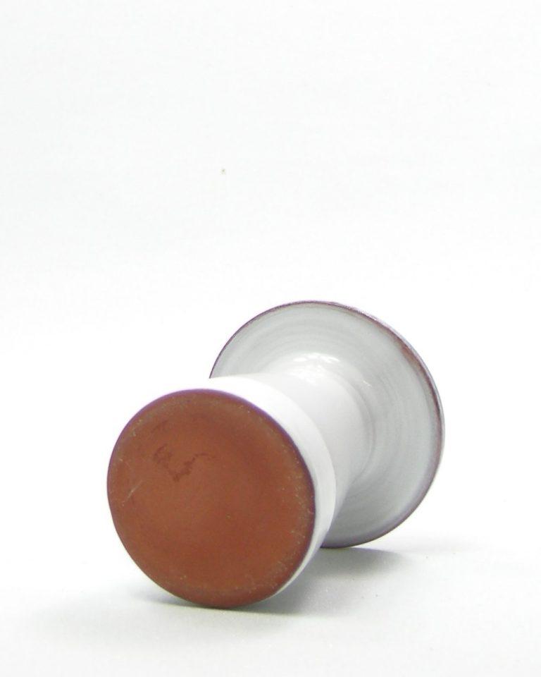 302 vaasje wit – bruin