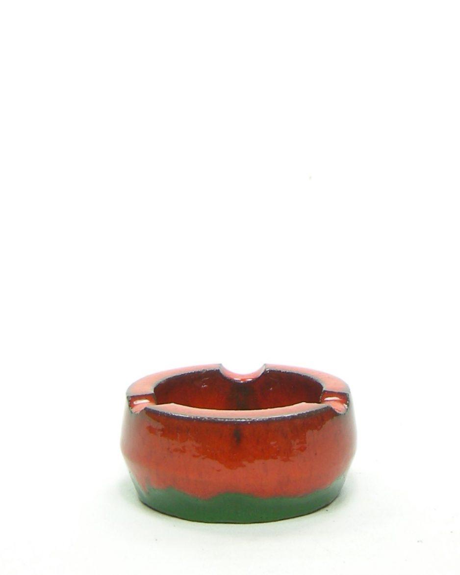 306-asbak rood-groen