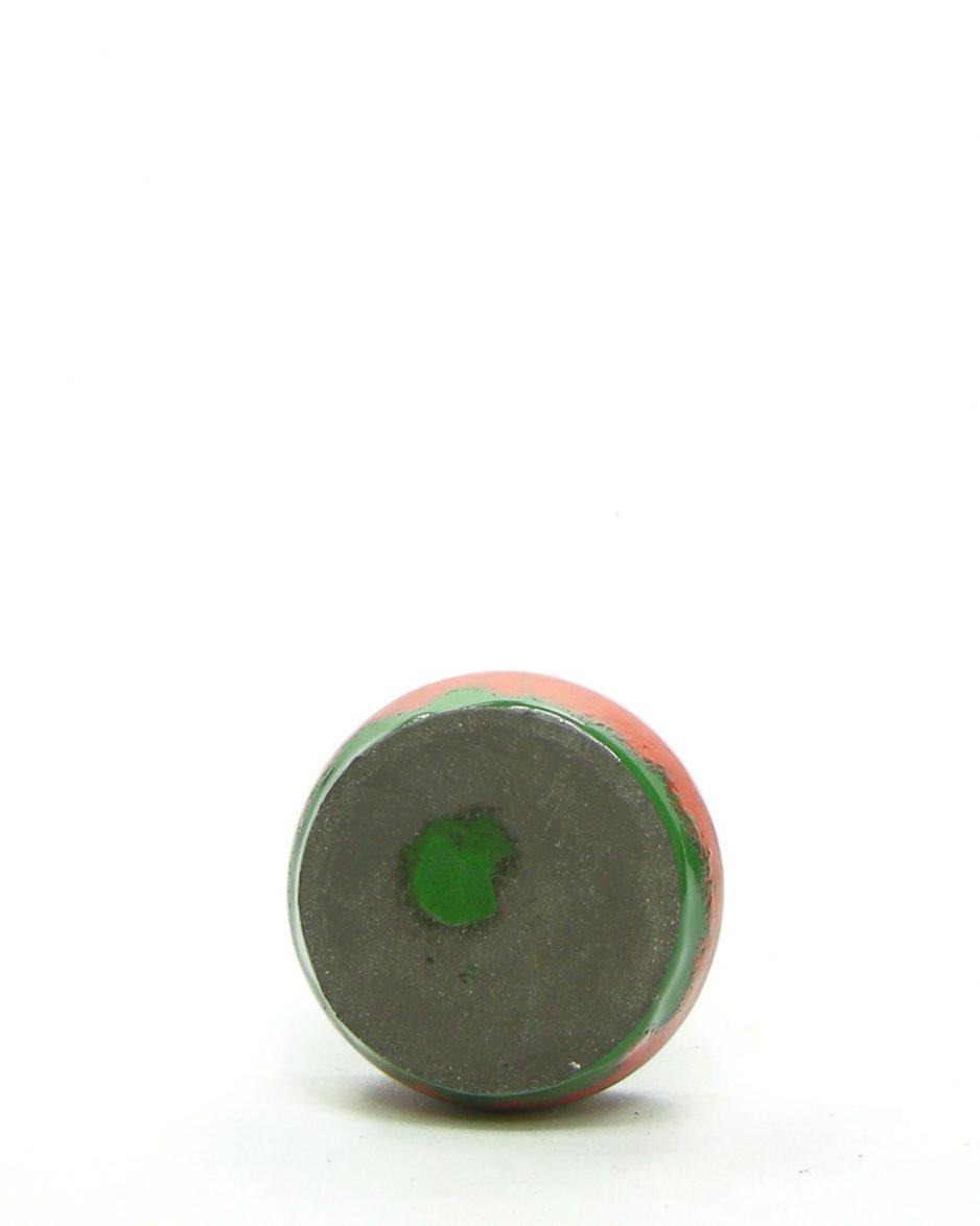 306 - asbak rood - groen