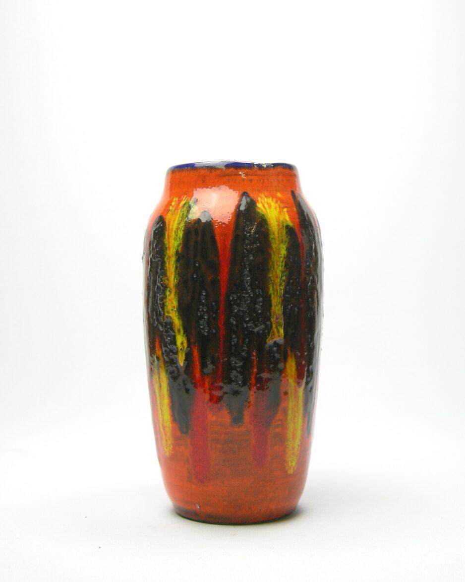 310-vaas Scheurich 242-22 oranje - zwart - geel - rood