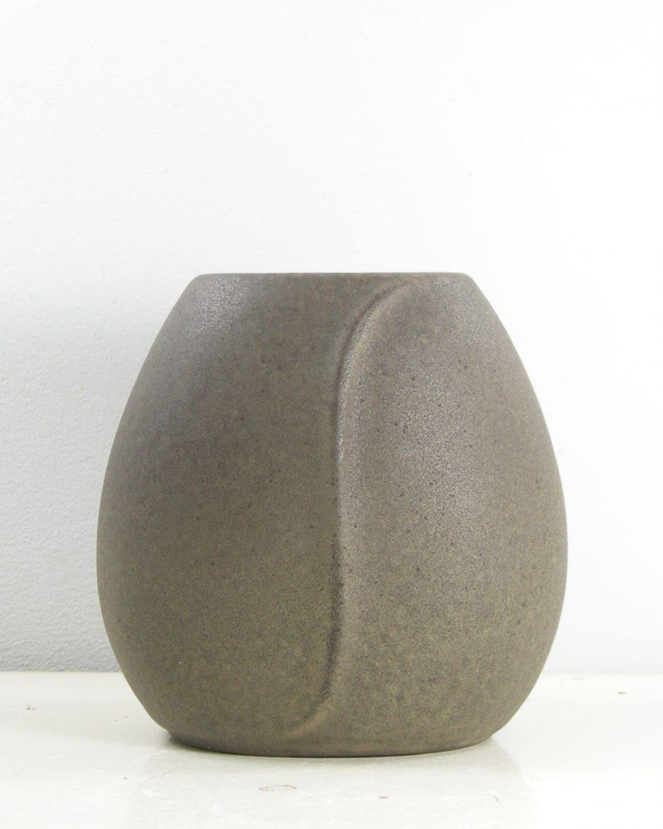 316-vaasje West Germany Steuler keramik 60/10 bruin