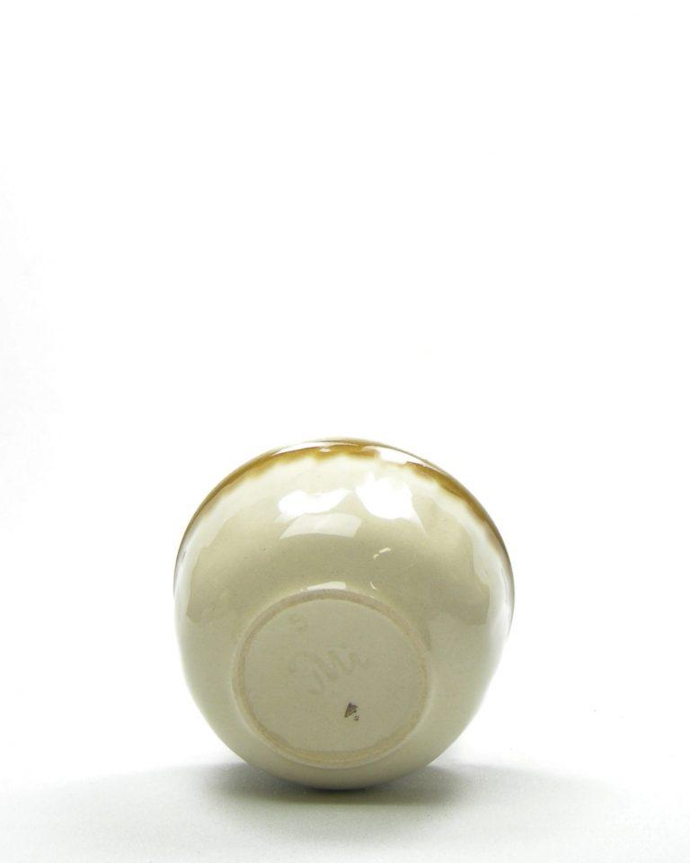 324-schaaltje 9 bruin-beige