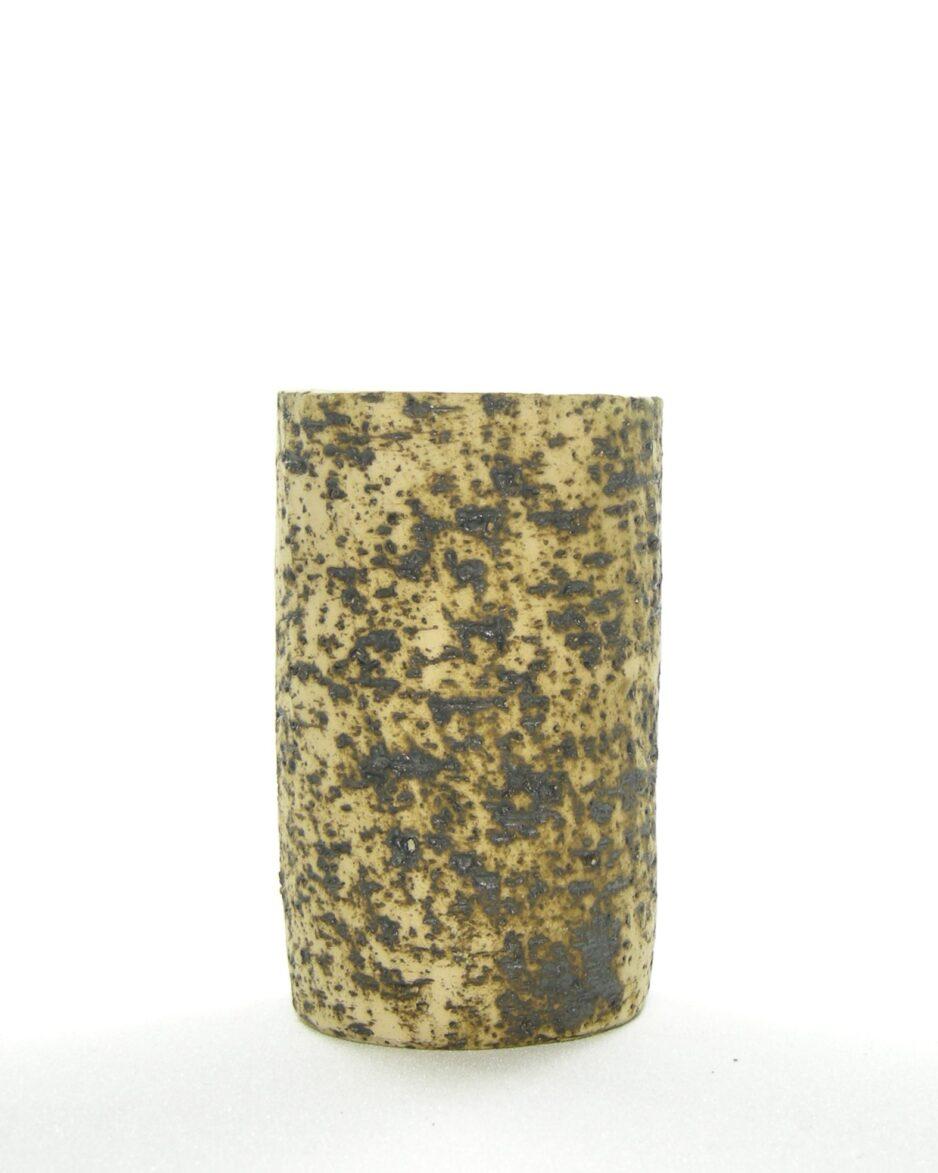 363 - vaasje cilindervormig berkenbast