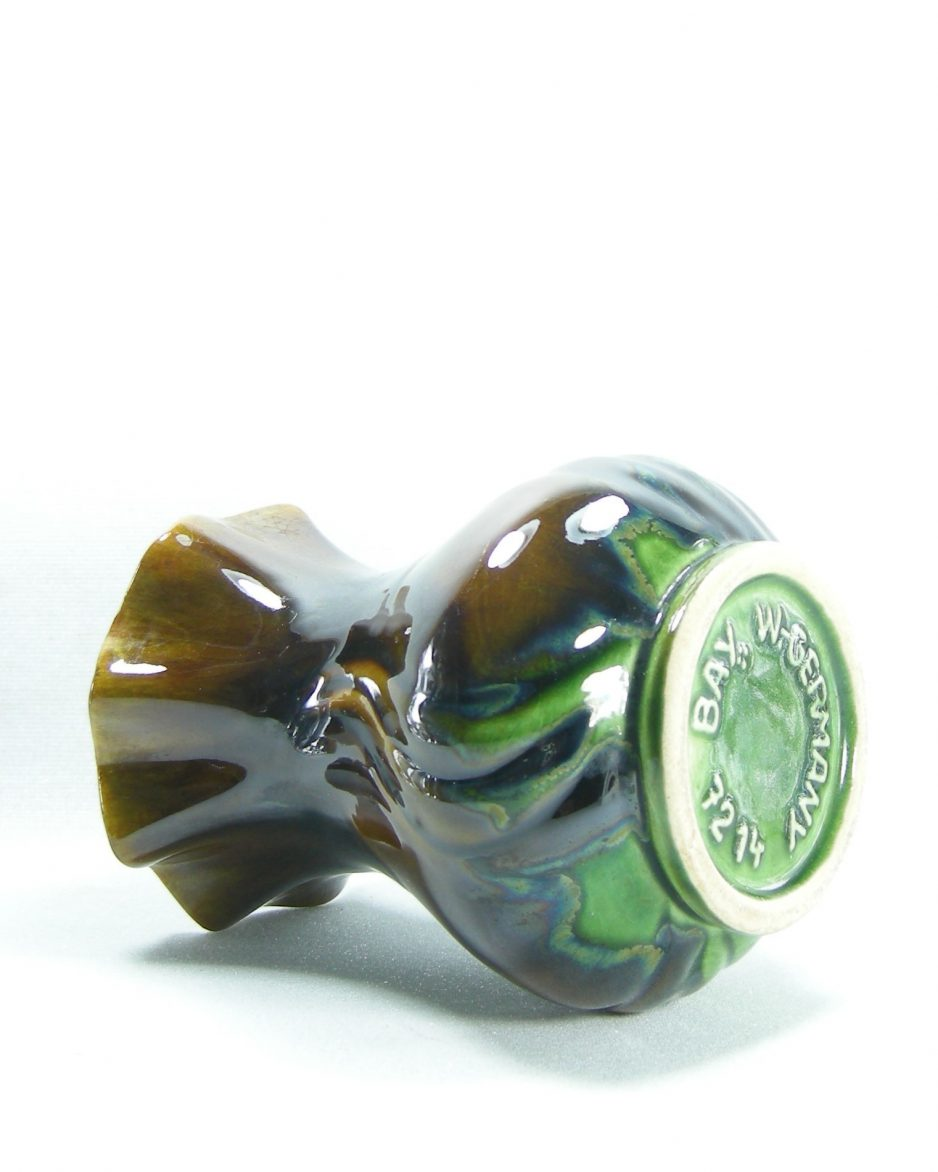 443 - vaas Bay Keramik 72-14 bruin-groen-blauw