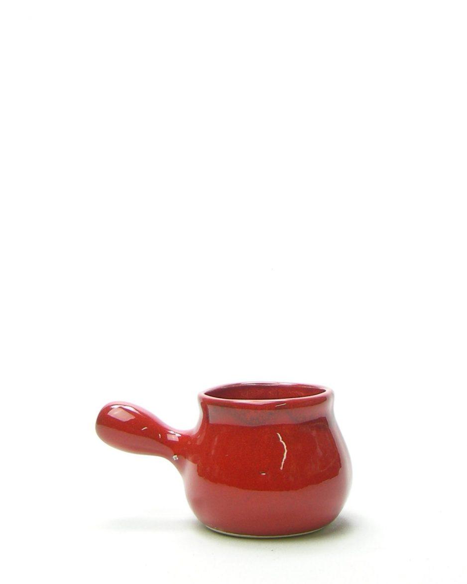 446 - saus kommetje rood