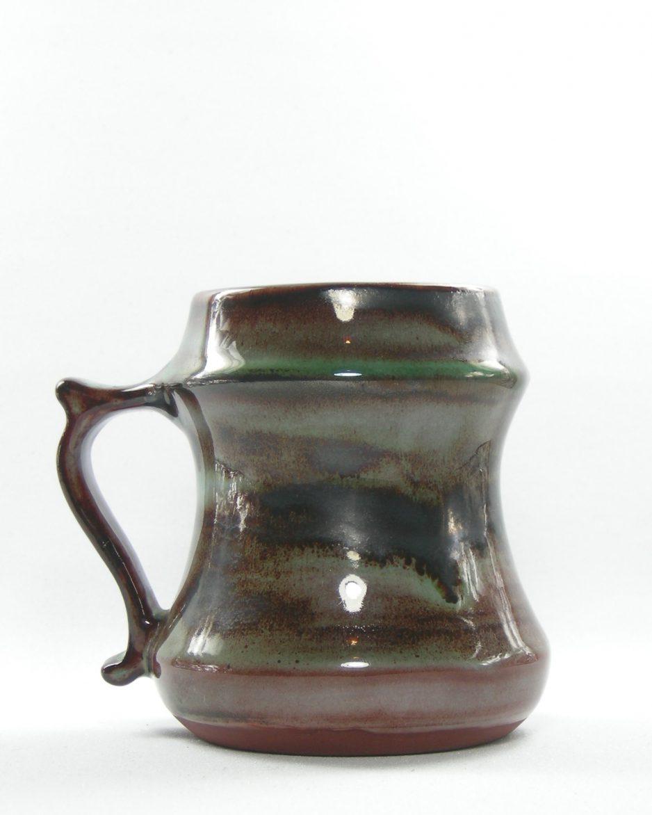 463 - mok Llangollen Wales bruin-groen
