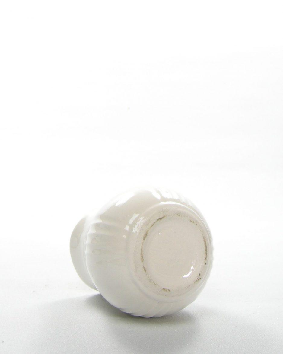 627 - Vintage potje Pimienta gebroken wit