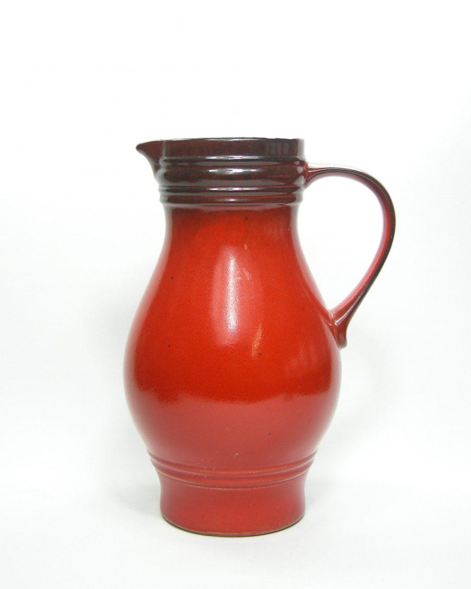 656 - Vloervaas Jasba no 62 52 30 rood