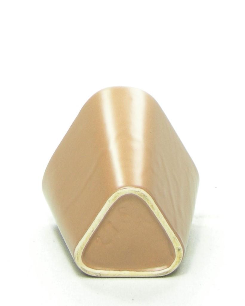 79 - vaasje 278R driehoek bruin