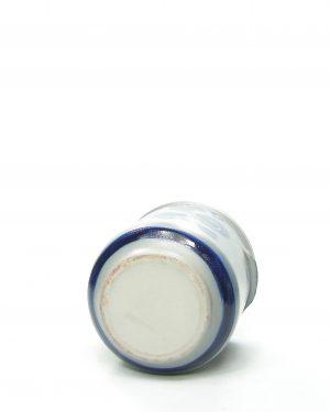 685 – bloempot Keuls grijs-blauw