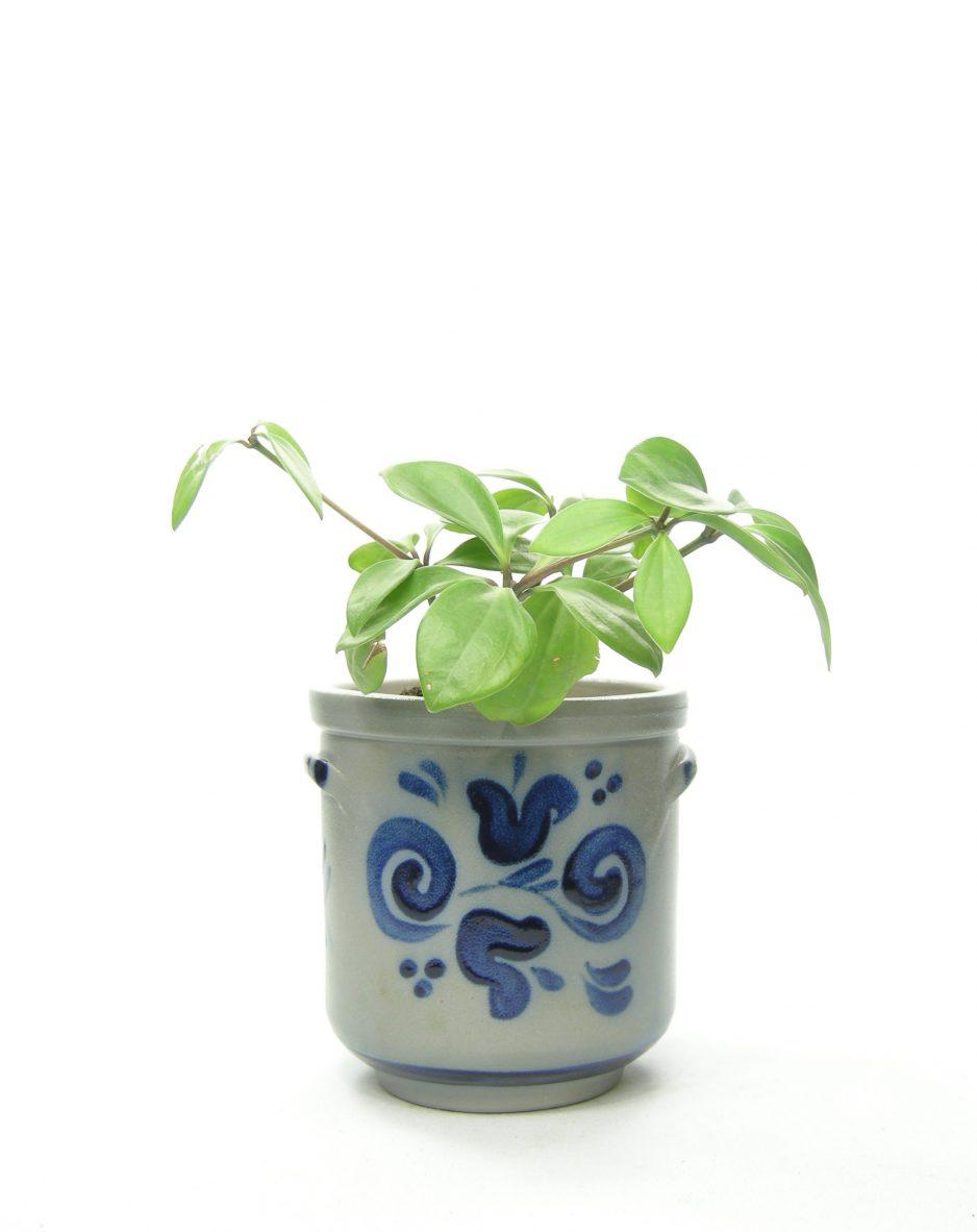 685 - bloempot Keuls grijs-blauw