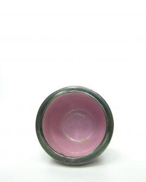686 – bloempot roze – potjesenvaasjes.nl , bloempot, bloempotten, bloempotjes, vaas, vazen, vaasjes, vintage, retro, West Germany, East Germany, servies, keramiek, aardewerk (113)