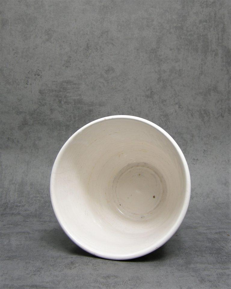 70 – bloempot op stokjes gebakken wit (3)