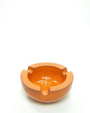 8 - Vintage asbak ADCO 312 oranje