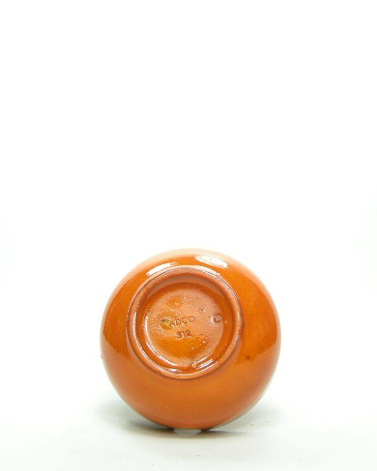 8 – Vintage asbak ADCO 312 oranje