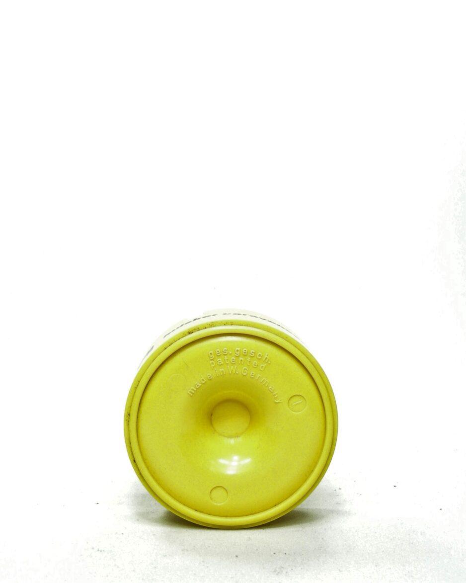 664 - asbak made in West Germany geel
