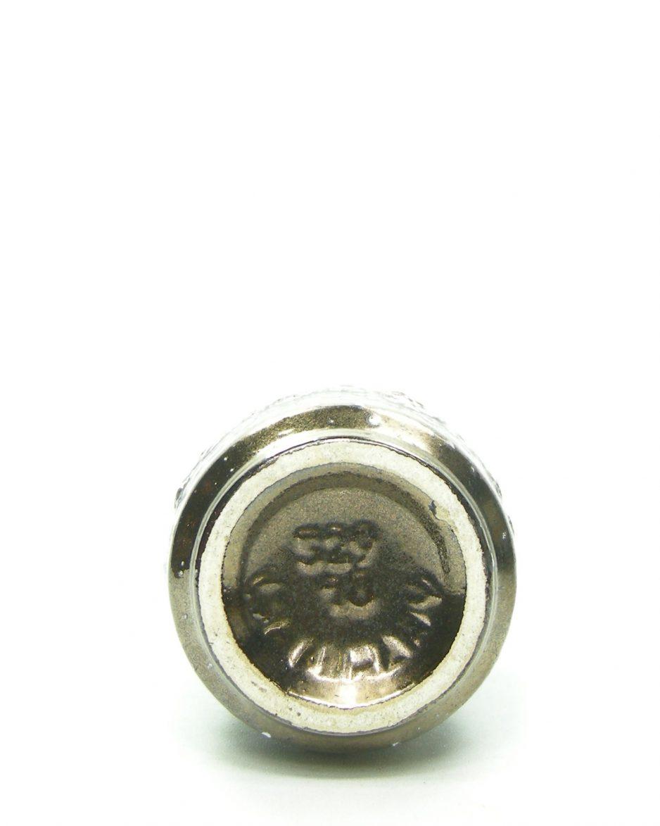 708 - vaas Scheurich 529-18 brons dripglaze