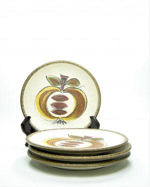 751 - bordjes Appel bruin - beige