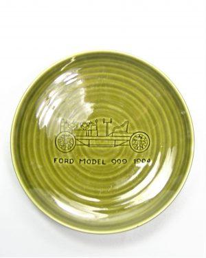 753 - bord Goedewaagen Holland Ford model 999 1904 groen
