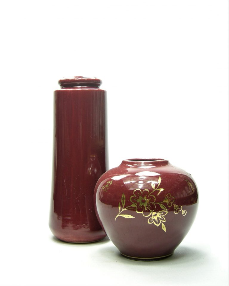775 – vaas Scheurich 206-26 rood (1)