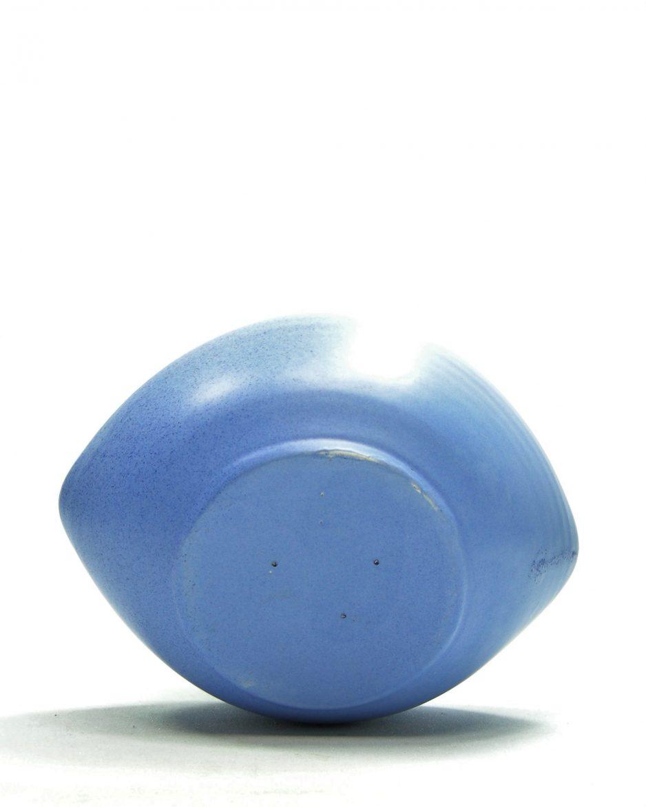 782 - pinda set ARUBA hand geschilderd blauw (1)