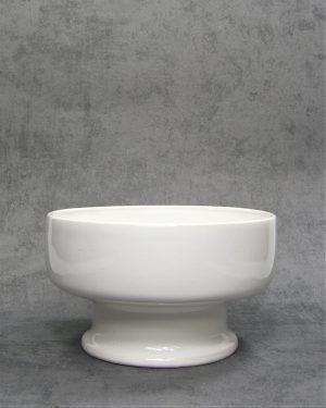 802 – bloempot 7082 op voet wit (2)