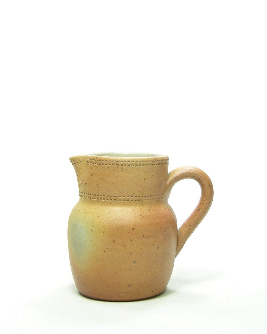 817 - kan - pitcher GRES DU BERRY Fait Main FRANCE bruin