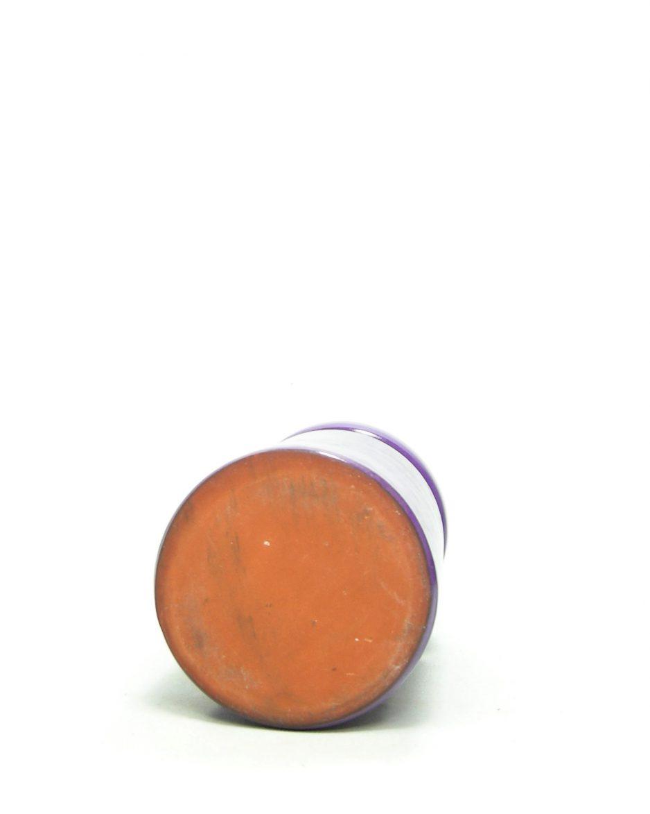 831 - vaas cilindervorm paars