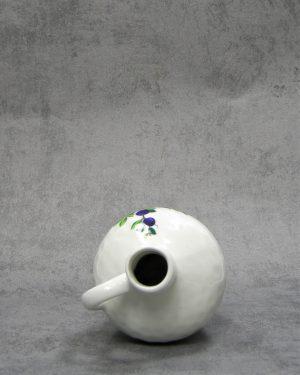 858 – vaasje met bloemen wit