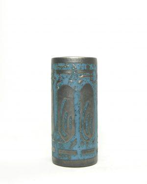 872 - vaas Cartstens Tonnieshof Ankara 683-18 zwart - blauw
