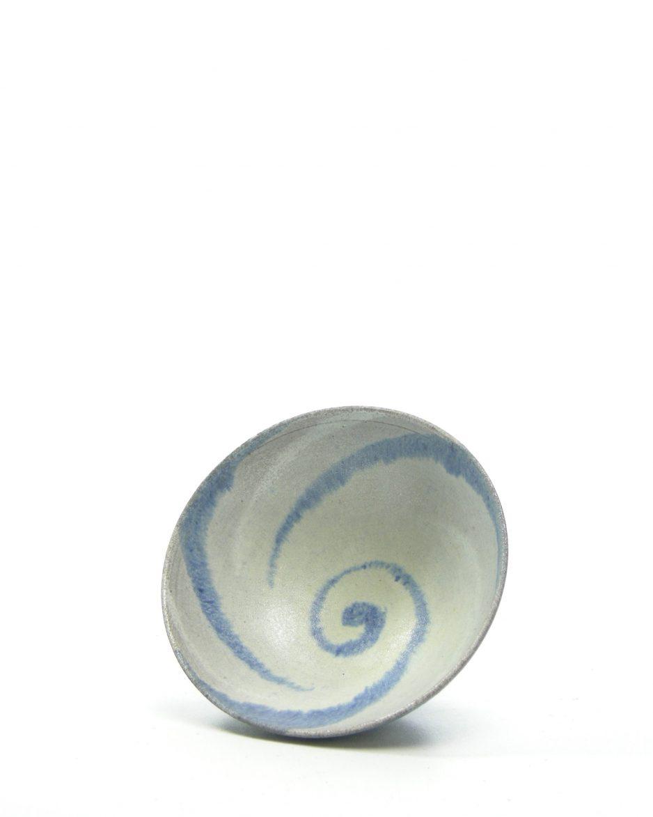 976 - schaaltje M. 't Bolmerk Keramiek blauw
