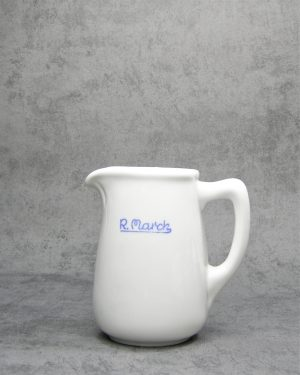 996 - pitcher Grife & Escoda Barcelona Madrid wit - blauw