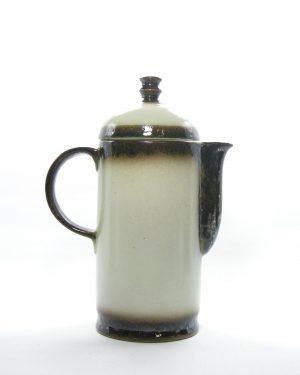 1001 - koffiekan Cermano 36 Steinzeug bruin