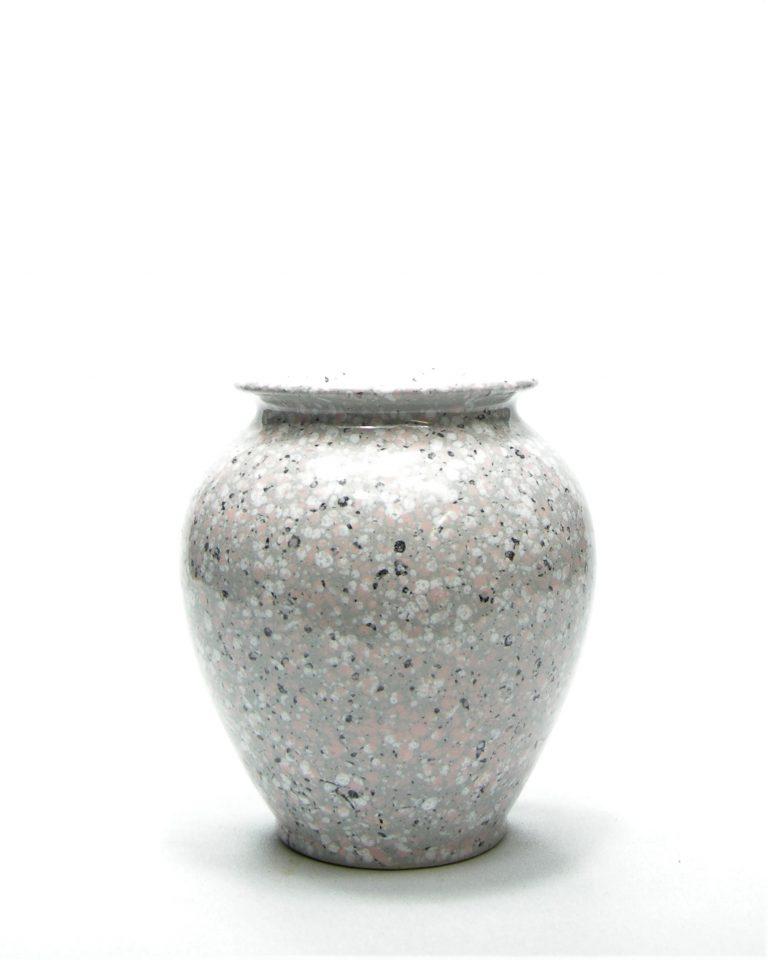 1006 – vaas Bay 650-14 grijs – roze – wit – zwart