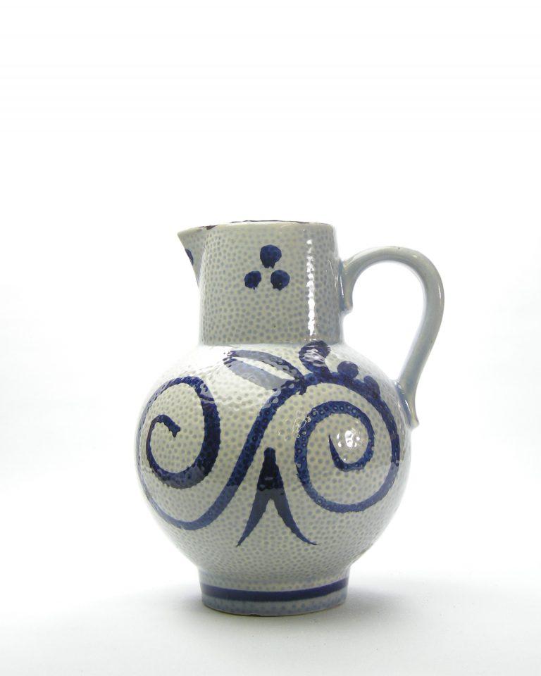 1008 – pitcher Scheurich 418-22 grijs – blauw