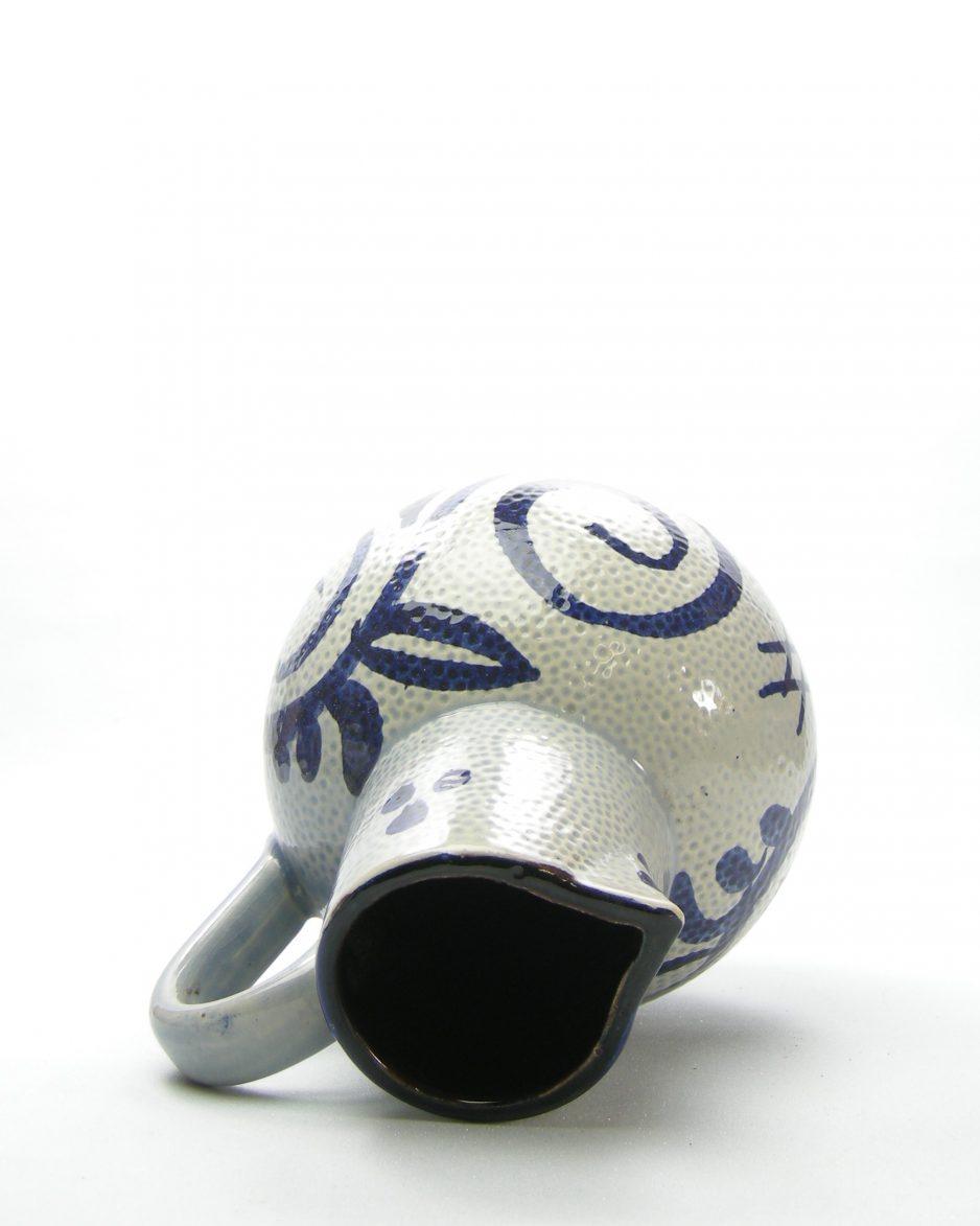 1008 - pitcher Scheurich 418-22 grijs - blauw