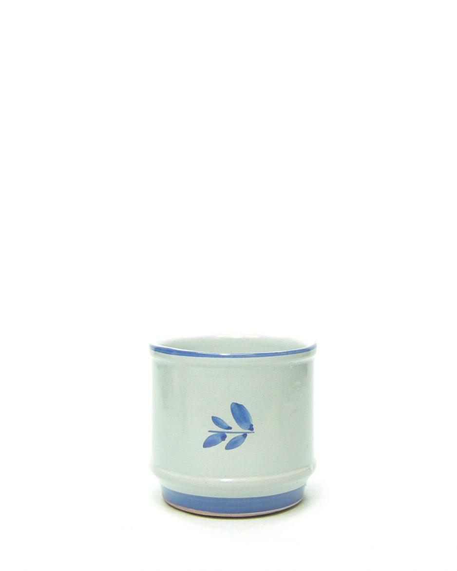 1009 - bloempot VEB Grafrode 624-10 blauw