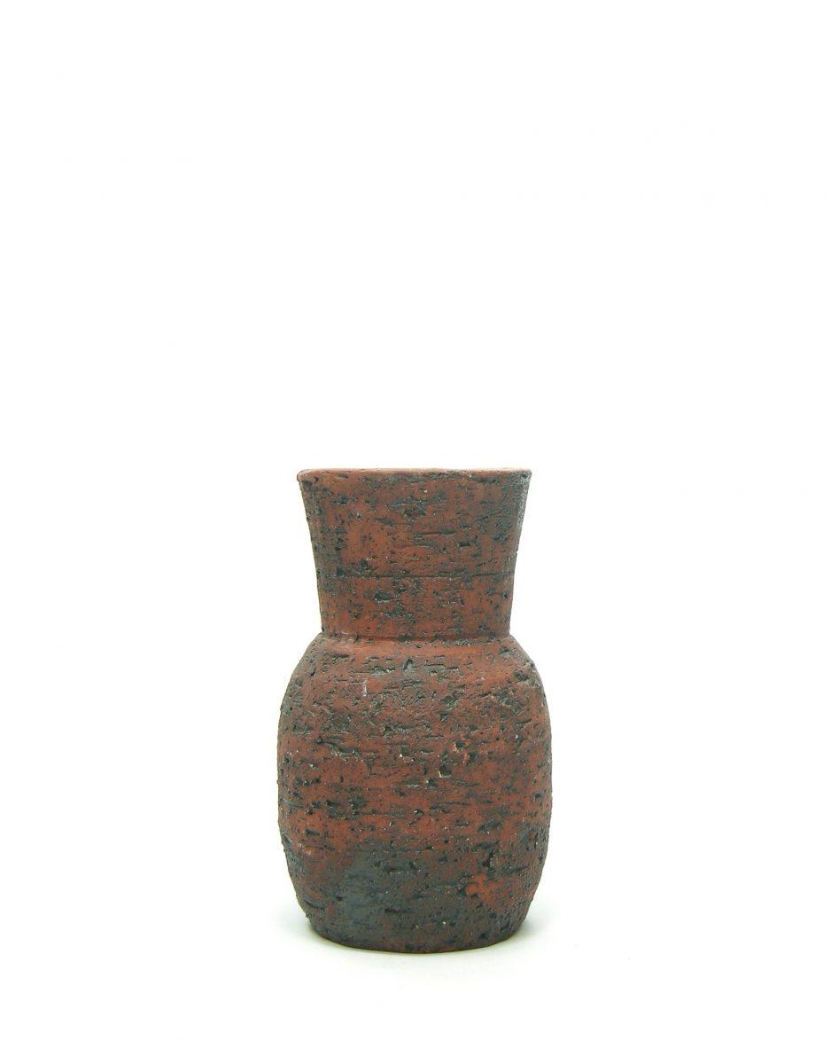 1048 - vaas berkenbast rood - zwart