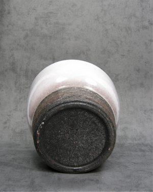 1058 – bloempot ADCO 224 wit – grijs – bruin